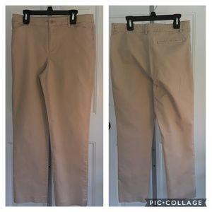 Lauren Ralph Lauren Petites Khaki Pants 8P